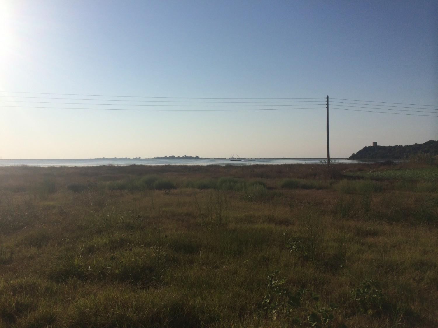 Large sea front land for sale